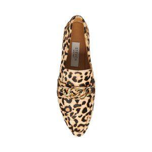 NWT Steve Madden Women's Hersch Chained Loafers
